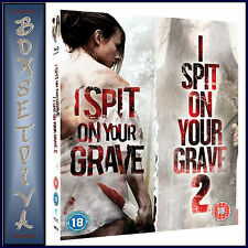 I SPIT ON YOUR GRAVE - DOUBLE PACK - 1 & 2  **BRAND NEW BLU-RAY   **