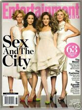 """""""Sex & the City"""" Entertainment Weekly 5/30/08 Mint NL"""