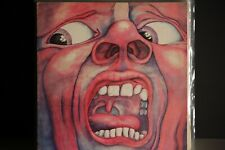 KING CRIMSON UK LP THE COURT OF 1969 PINK RIM PALM TREE LABEL ILPS9111