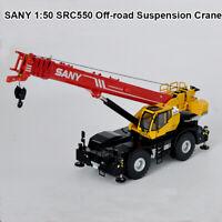 1:50 SANY SRC550 Off-road Suspension Crane Diecast Model Collection Vehicles Car