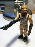 Vintage Star Wars Bossk COMPLETE Action Figure 1980 COO: Hong Kong Kenner