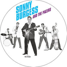 IMAN/MAGNET SONNY BURGESS AND THE PACERS . carl perkins gene vincent cramps