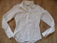 DONALDSON schöne Bluse weiß tailliert Gr. 38 TOP KoS817