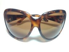 New Authentic Tom Ford Sabine Tortoise Oversized Rounded sunglasses women TF65