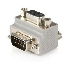 StarTech.com Right Angle DB9 to DB9 Serial Cable Adaptor Type 2 - M/F