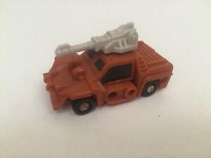 Transformers G1 1989 GROWL figure MICROMASTER Military Patrol
