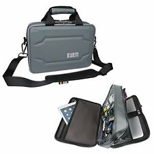 BUBM Double Layer Laptop Messenger Bag, Hard Shell Electronics Accessories