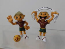 Fußball UEFA EM 2004 Maskottchen Kinas 2 x Figur M+B Portugal Maia + Borges