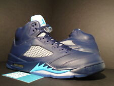 Nike Air Jordan V 5 Retro HORNETS PRE-GRAPE NAVY BLUE TURQUOISE WHITE BLACK 13