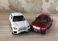 CAIPO 1:43 BMW X6 SUV Alloy Car Model Pull Back Vehicles Kids Toy