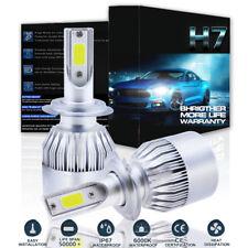 H7 1300W 195000LM LED 2018 Bright White Headlight Kit High Low Beam Bulbs 6000K