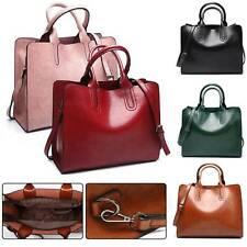 Women Ladies Large Leather Fashion Design Tote Hobo Shopper Shoulder Bag Handbag