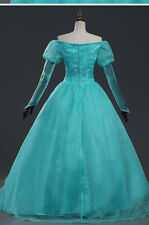 Beautiful Princess Dress Ariel The little Mermaid Cosplay Costume Dress Any Size