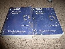 2002 Lincoln LS Shop Service Repair Manual Premium Convenience Sport LSE V6 V8