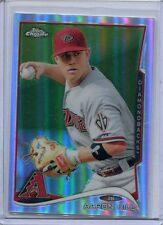 2013 Topps Chrome REFRACTOR Baseball Card Aaron Hill Arizona Diamonbacks MT 217