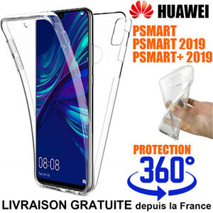 Schutzhülle Cover 360° Hülle Integral für Huawei Psmart 2019 Silikon P Plus