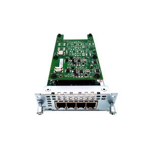Cisco NIM-4FXO 4-Port FXO Network Interface Module for 4000 Series ISR HSS