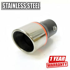 Performance Car Exhaust Tip Muffler Trim Pipe Chrome Stainless Steel Durable