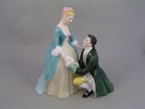 """ROYAL DOULTON THE SUITOR 8"""" FIGURINE, HN 2132."""