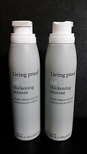 Living Proof FULL THICKENING MOUSSE 5 oz (149 ml) - LOT OF (2) BOTTLES