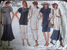 Vogue sewing Patterns no.1882 sizes 8-10 ladies skirt & tops vintage