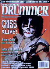 MODERN DRUMMER - PETER CRISS (KISS)  - COVER STORY - FEBRUARY, 1999