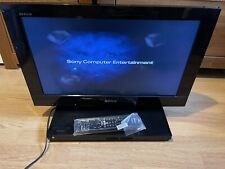 Sony Bravia KDL-22PX300 22 Inch TV With Built In PlayStation 2 PS2 WITH REMOTE
