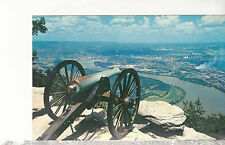 Confederate Battery  Lookout Mountain  Chattanooga TN Postcard 11217