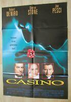 Filmplakat - Casino ( Robert De Niro, Sharon Stone , Martin Scorsese )