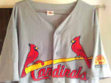 St Louis Cardinals Mlb Button Up Front Sewn Team Jersey Sz- Xl