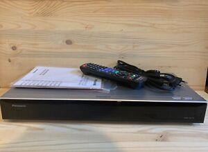 PANASONIC DMR-UBC70 EGS UHD Blu-ray Recorder 500 GB Silber schwarz Festplatten