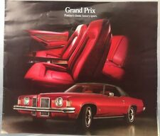 1973 pontiac grand prix Advertisement brochures- LOT