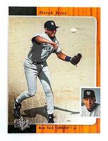 Derek Jeter #135 (1996 Upper Deck SP) Rookie Baseball Card, New York Yankees HOF