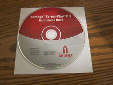 Iomega screenplay Hd multimedia drive solutions Cd