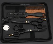 2 paires de ciseaux de coiffure professionnel plus 2 peignes  coiffeur pro