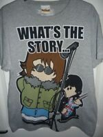 MENS OASIS WEENICONS (WHATS THE STORY) RETRO T,SHIRT---- SIZE MEDIUM NOEL&LIAM.