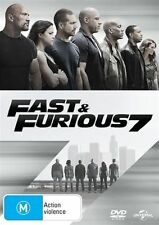 Fast and Furious 7 (DVD, 2015 Regions 2,4,5) R.I.P  Paul Walker, Vin Diesel