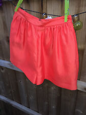 GENUINE DSquared2 Women's Orange Going Out Shorts Size UK 8 (40) BNWT RRP £365