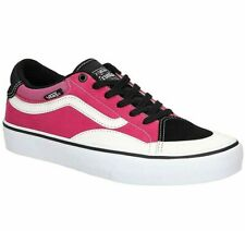 Vans TNT Advanced Prototype Black Magenta White Mens Skate Shoes