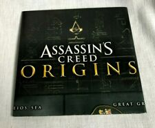 Assassins Creed Origins Fold Out Map and Poster 2017 Prima Ancient Egypt