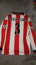 Southampton Home football shirt John Beresford 3 Match worn the Dell 1998/1999