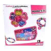 Loisir Créatif - Coffret de 2 boites de Perles à assembler (2150)