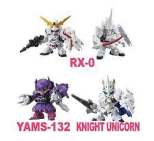 Bandai SD Gundam Next 12 Gashapon (Set of 4) RX-0 UNICORN KNIGHT UNICORN
