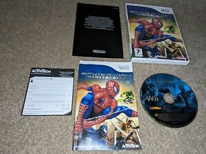 Spider-Man : Friend of Foe - Nintendo Wii / Wii U  Game + Manual PAL