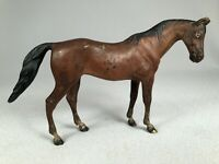 OUTSTANDING ANTIQUE VIENNA BRONZE COLD PAINTED BAY HORSE MARE, LOVELY!