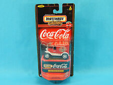 Matchbox Collectibles 1921 Ford Model T 1/64 Coca-Cola Delivery 1998