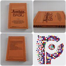 Elemental amiga BASIC por C. Regena un libro de publicación de libros de computación! Manual