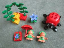 VINTAGE DUPLO - RARE - FOREST FRIENDS - THE TOADSTOOLS - 2831