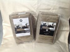 Hotel Collection Onyx PAIR KING Quilted Pillow Sham