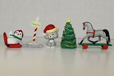 Hallmark Miniatures - Christmas Figures Miscellaneous (Lot of 5)